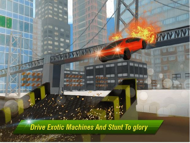 Crime City Car Stunt By Multi Touch Games - Mobile